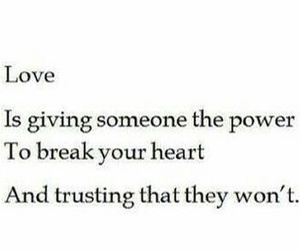 love, heart, and trust image