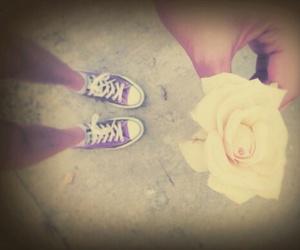 allstars shoes flowers image