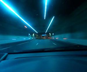 car, glow, and grunge image