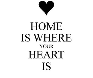 home, white, and love image