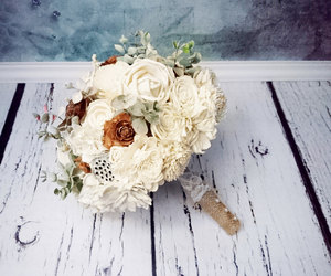 bouquet, etsy, and wedding bouquet image