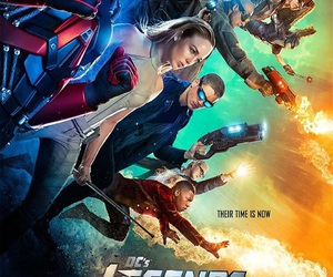 legends of tomorrow, brandon routh, and arthur darvill image