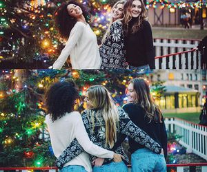autumn, christmas, and friendship image