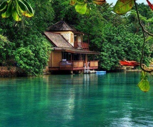 house, jamaica, and nature image