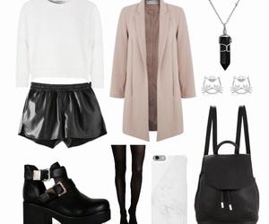 backpack, bag, and beige image