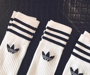 adidas, adidas superstar, and black image