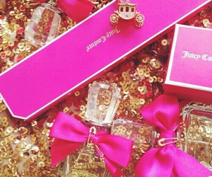 pink, juicy couture, and perfume image