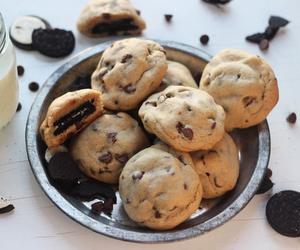 food, Cookies, and oreo image