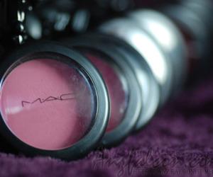 mac, make up, and pink image