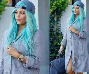 blue, celebrity, and kardashians image