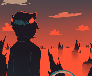 homestuck and karkat vantas image