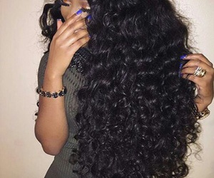 curly hair, goals, and hairstyle image