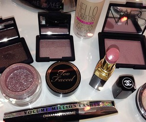 make up, beauty, and chanel image