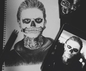 american horror story, drawing, and ahs image