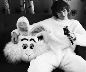 black and white, cute, and boy image