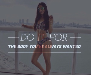 do it, fit, and goals image