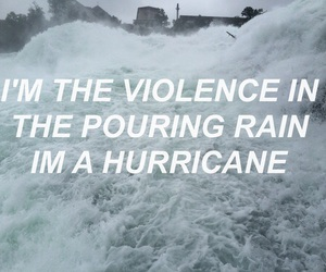 hurricane, halsey, and Lyrics image