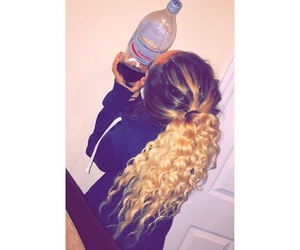 curls, hair, and waves image