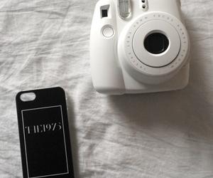 black and white, grunge, and camera image