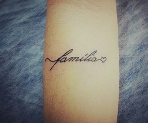 arm tattoo, family, and tattoo image