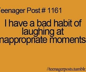 teenager post, funny, and laughing image