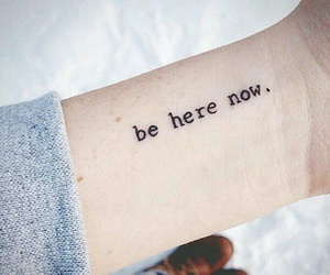 here, stay with me, and be here now image