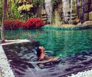 luxury, pool, and paradise image