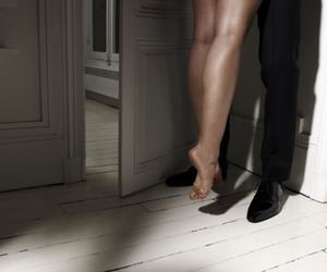 couple, legs, and love image