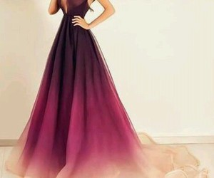 clothes, dress, and ombre image