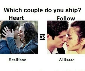 teen wolf, scallison, and allisaac image