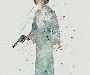 art, star wars, and leia organa image