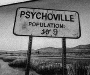 Darkness, grunge, and psychopath image