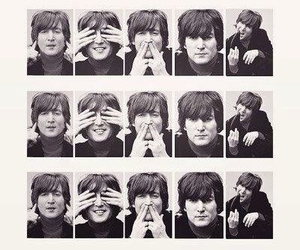 john lennon and the beatles image