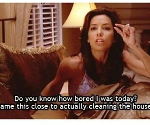 funny, bored, and Desperate Housewives image