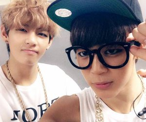 bts, v, and jimin image