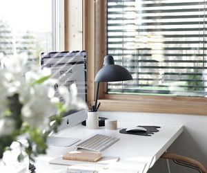 office, love, and decor image