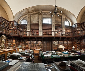 books, library, and london image