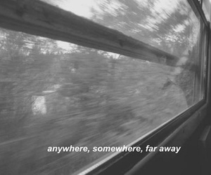 anywhere, far away, and grunge image