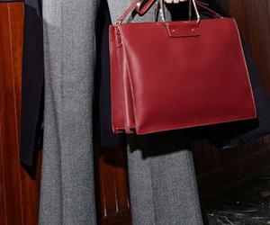 bag, plaid shirt, and style image