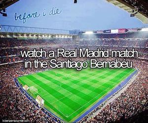real madrid, before i die, and football image