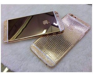 iphone, gold, and phone image
