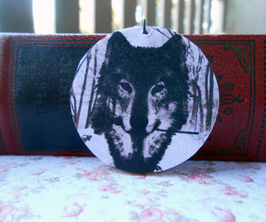 diy, romantic, and wolf image