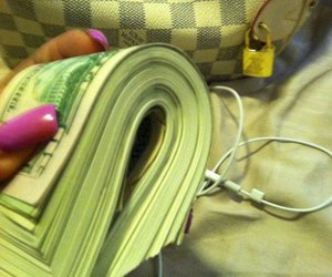 money, nails, and rich image