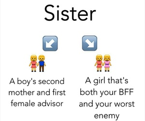 siblings and sister image