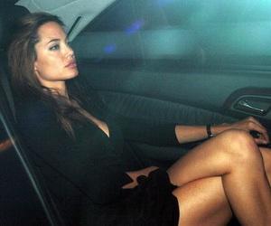 Angelina Jolie, fashion, and makeup image