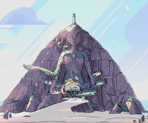steven universe and Temple image