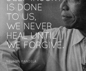 African and nelson mandela image