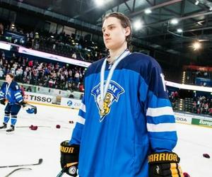 finland, hockey player, and sebastian aho image