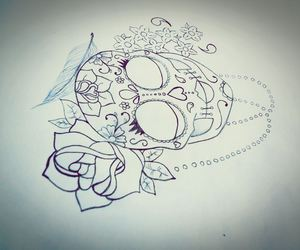 draw, mexican, and rose image