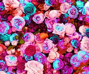 aesthetic, floral, and wallpapers image